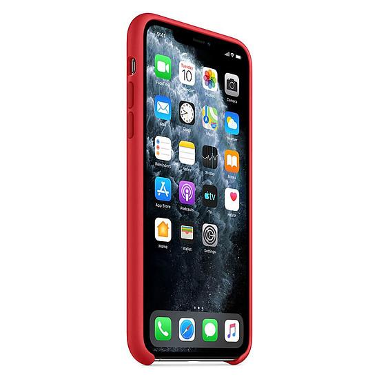 Coque et housse Apple Coque en silicone (rouge) - iPhone 11 Pro Max - Autre vue