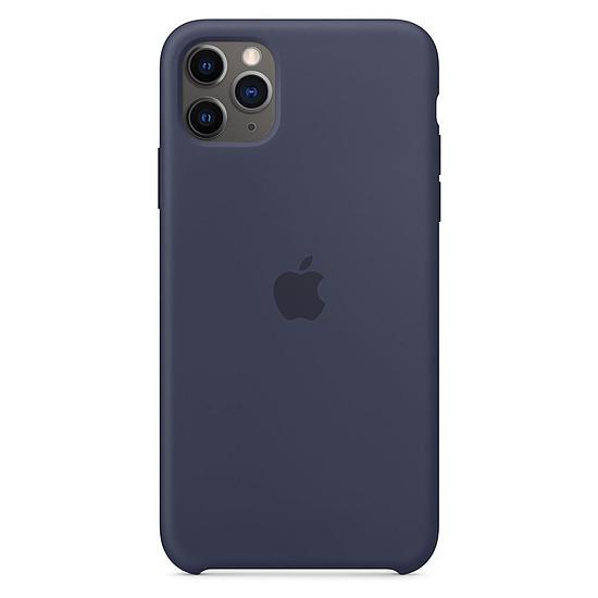 Coque et housse Apple Coque en silicone (Bleu Nuit) - iPhone 11 Pro Max
