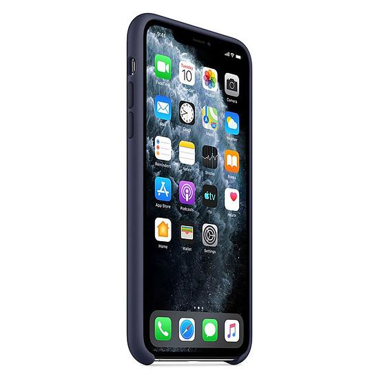 Coque et housse Apple Coque en silicone (Bleu Nuit) - iPhone 11 Pro Max - Autre vue