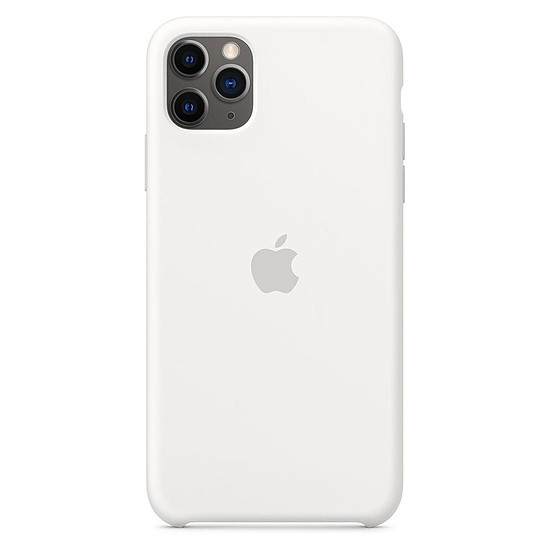 Coque et housse Apple Coque en silicone (Blanc) - iPhone 11 Pro Max