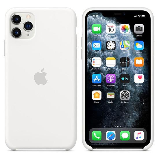 Coque et housse Apple Coque en silicone (Blanc) - iPhone 11 Pro Max - Autre vue