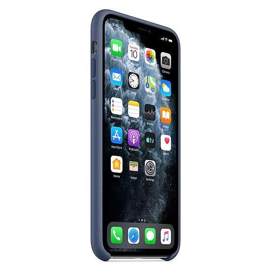 Coque et housse Apple Coque en silicone (Bleu d'Alaska) - iPhone 11 Pro Max - Autre vue