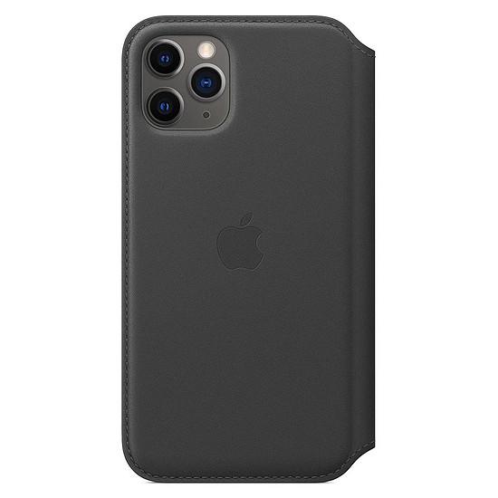 Coque et housse Apple Etui folio cuir (noir) - iPhone 11 Pro - Autre vue