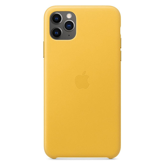 Coque et housse Apple Coque en cuir (Citron Meyer) - iPhone 11 Pro Max