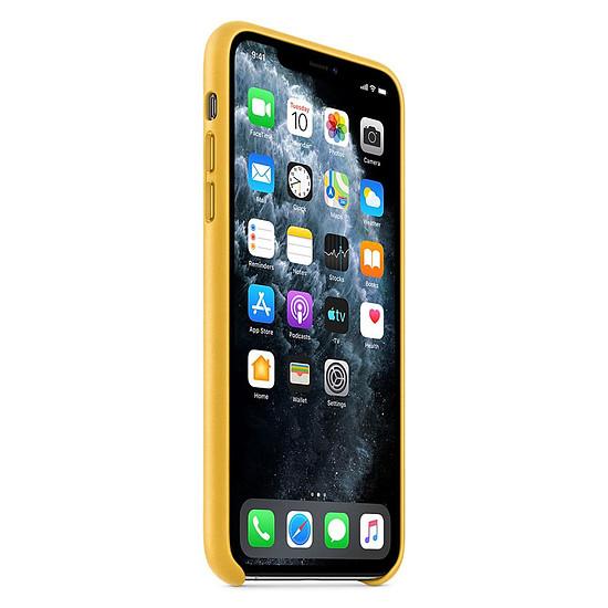 Coque et housse Apple Coque en cuir (Citron Meyer) - iPhone 11 Pro Max - Autre vue