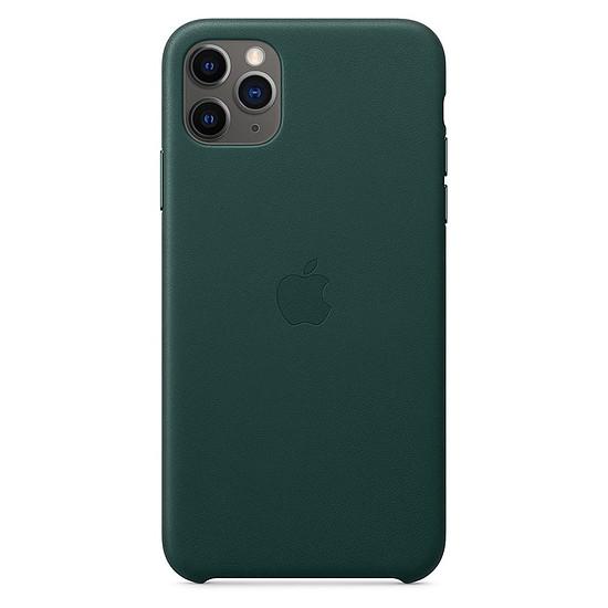 Coque et housse Apple Coque en cuir (Vert Forêt) - iPhone 11 Pro Max