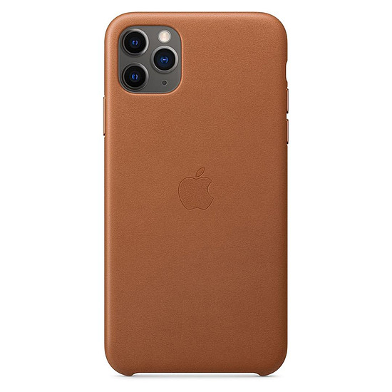 Coque et housse Apple Coque en cuir (Havane) - iPhone 11 Pro Max
