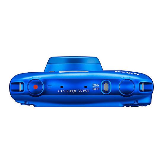 Appareil photo compact ou bridge Nikon Coolpix W150 Bleu + Sac à dos - Autre vue