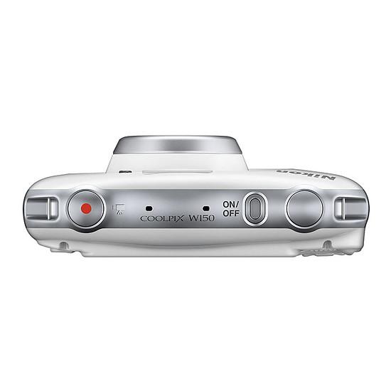 Appareil photo compact ou bridge Nikon Coolpix W150 Blanc+ Sac à dos - Autre vue