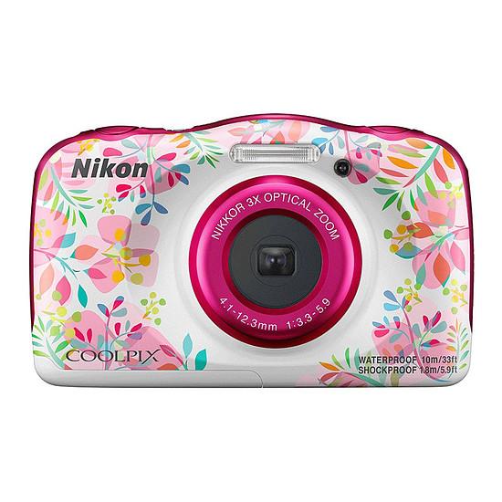 Appareil photo compact ou bridge Nikon Coolpix W150 Fleur + Sac à dos - Autre vue