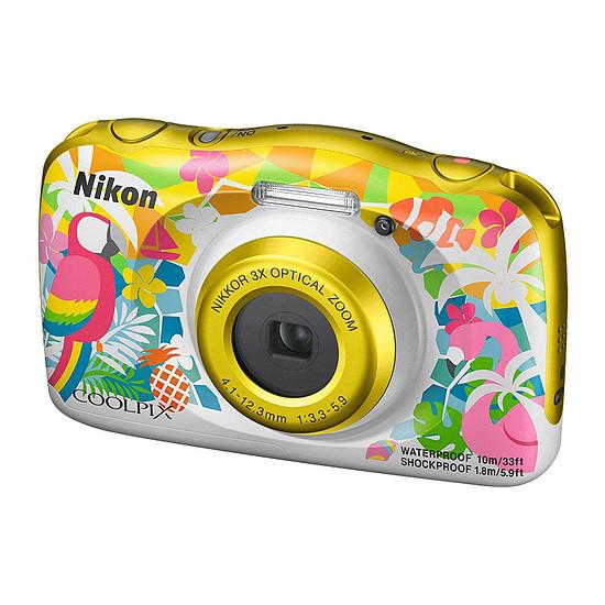 Appareil photo compact ou bridge Nikon Coolpix W150 Plage + Sac à dos - Autre vue