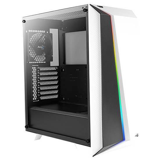 Boîtier PC Aerocool Cylon Pro Trempered Glass - Blanc