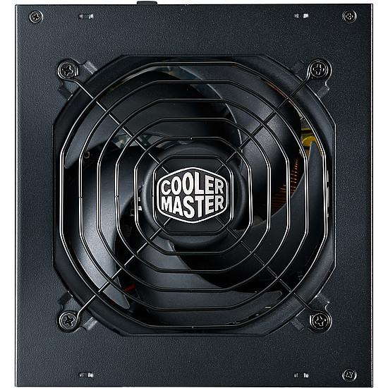 Alimentation PC Cooler Master MWE Gold 550 FM - Autre vue