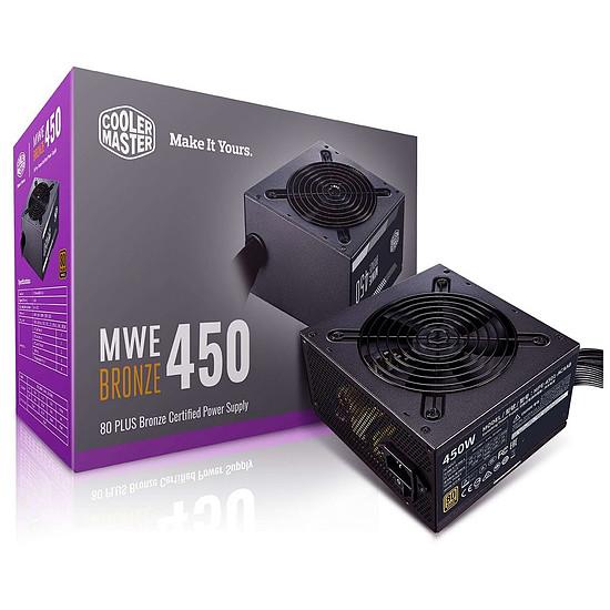 Alimentation PC Cooler Master MWE 450W Bronze V2