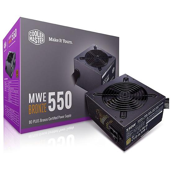 Alimentation PC Cooler Master MWE 550W Bronze V2
