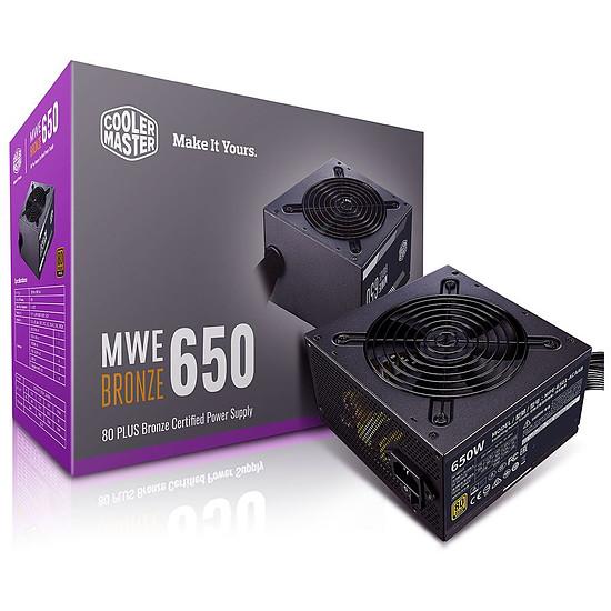 Alimentation PC Cooler Master MWE 650W Bronze V2