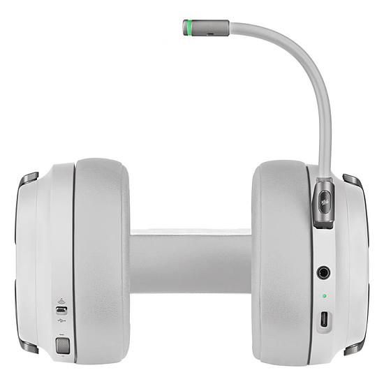 Casque micro Corsair Virtuoso RGB Wireless - Blanc - Autre vue