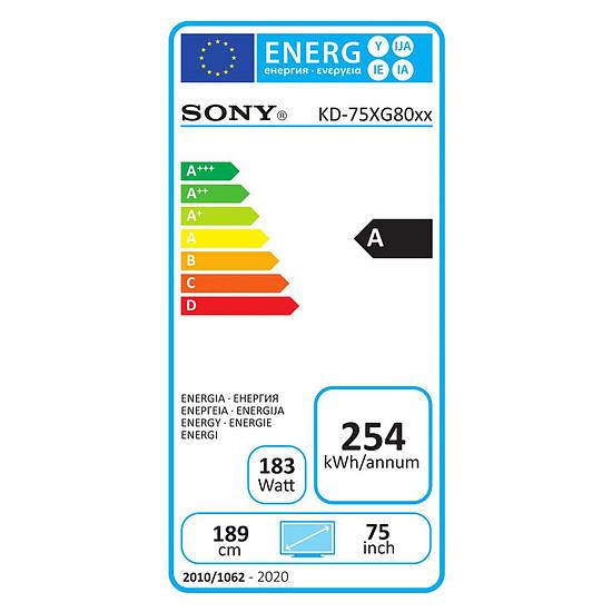 TV Sony KD-75XG8096 BAEP TV LED UHD 189 cm - Autre vue