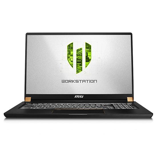 PC portable MSI WS75 9TL-628FR
