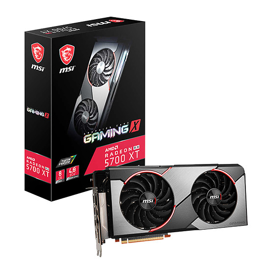 Carte graphique MSI Radeon RX 5700 XT Gaming X