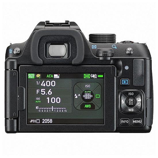 Appareil photo Reflex Pentax K70 + DAL 18-55 WR + DA 50 - Autre vue