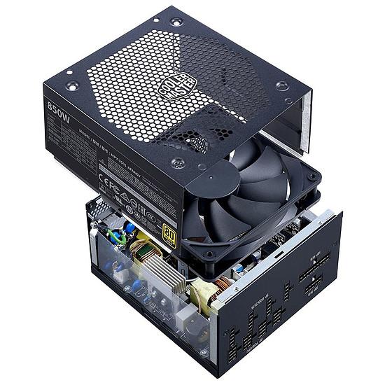 Alimentation PC Cooler Master V850 Gold - Autre vue