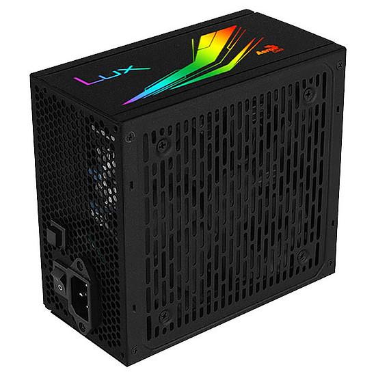 Alimentation PC Aerocool LUX RGB 650M  - Autre vue
