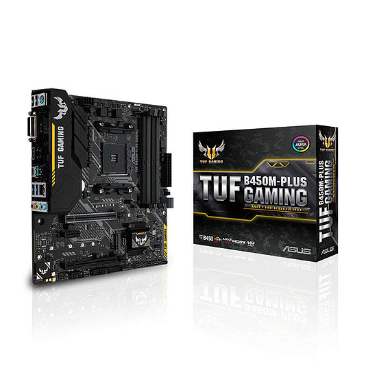 Carte mère Asus TUF B450M-PLUS GAMING