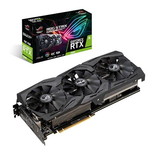 Carte graphique Asus GeForce RTX 2060 ROG STRIX OC