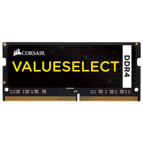 Mémoire Corsair ValueSelect SO-DIMM DDR4 1 x 32 Go 2666 MHz CAS 18