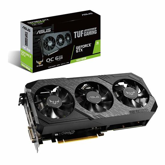Carte graphique Asus TUF GeForce GTX 1660 SUPER OC