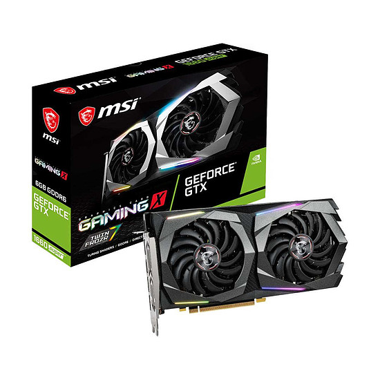 Carte graphique MSI GeForce GTX 1660 SUPER Gaming X