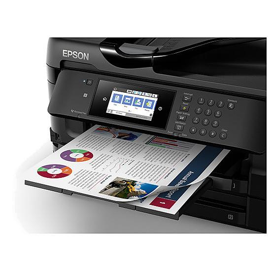 Imprimante multifonction Epson WorkForce WF-7720DTWF - Autre vue