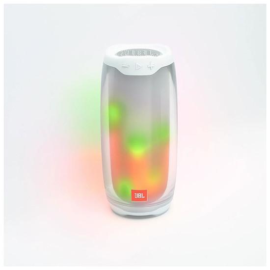 Enceinte sans fil JBL Pulse 4 Blanc - Enceinte portable - Autre vue