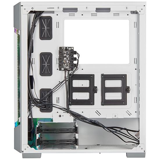 Boîtier PC Corsair ICUE 220T RGB Airflow - Blanc - Autre vue