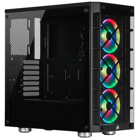 Boîtier PC Corsair ICUE 465X RGB - Noir