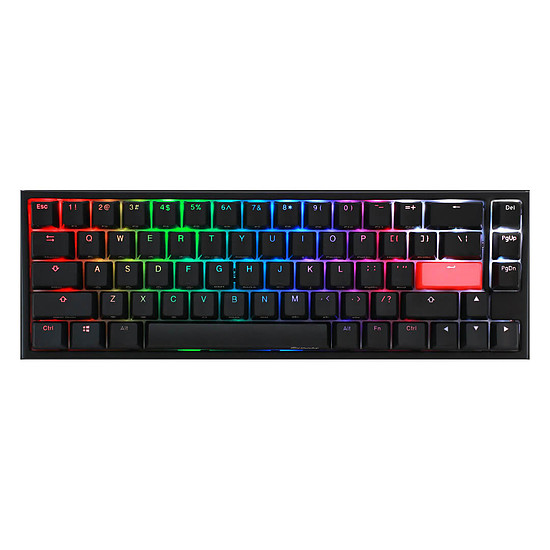 Clavier PC Ducky Channel One 2 SF RGB - Cherry MX Blue