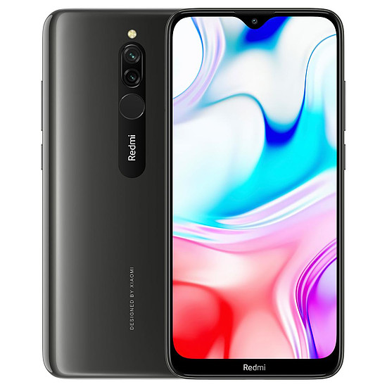 Smartphone et téléphone mobile Xiaomi Redmi 8 (noir) - 32 Go