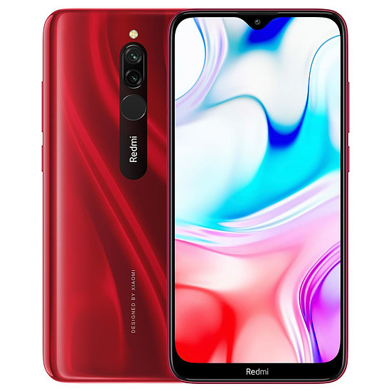 Smartphone et téléphone mobile Xiaomi Redmi 8 (rouge) - 32 Go
