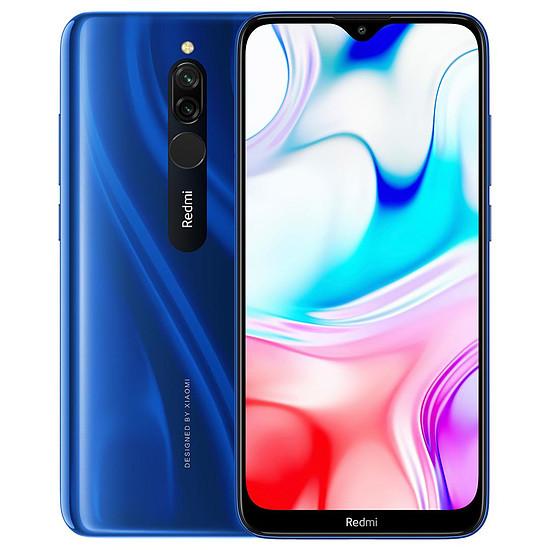 Smartphone et téléphone mobile Xiaomi Redmi 8 (bleu) - 32 Go