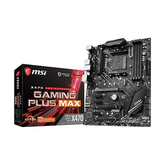Carte mère MSI X470 GAMING PLUS MAX