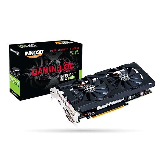 Carte graphique Inno3D GeForce GTX 1060 Gaming OC
