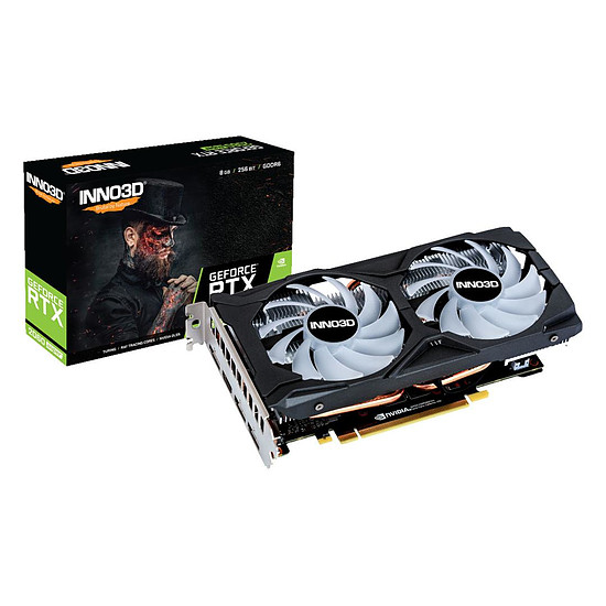 Carte graphique Inno3D GeForce RTX 2060 SUPER Twin X2 OC RGB