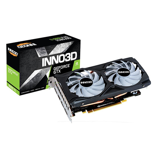 Carte graphique Inno3D GeForce GTX 1660 Ti Twin X2 OC RGB