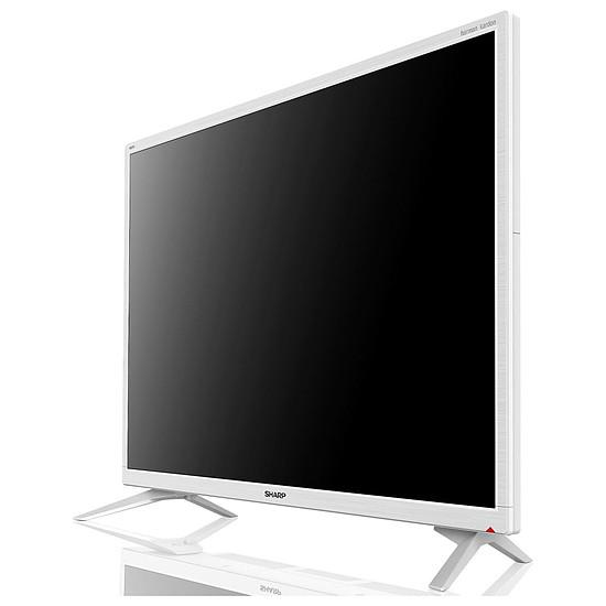 TV Sharp LC-32HI5232E - TV HD - 81 cm Blanc  - Autre vue