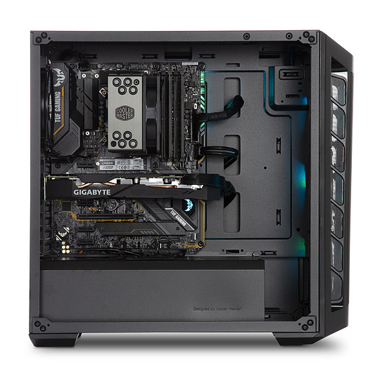 PC de bureau Materiel.net Midnight [ Win10 - PC Gamer ] - Autre vue