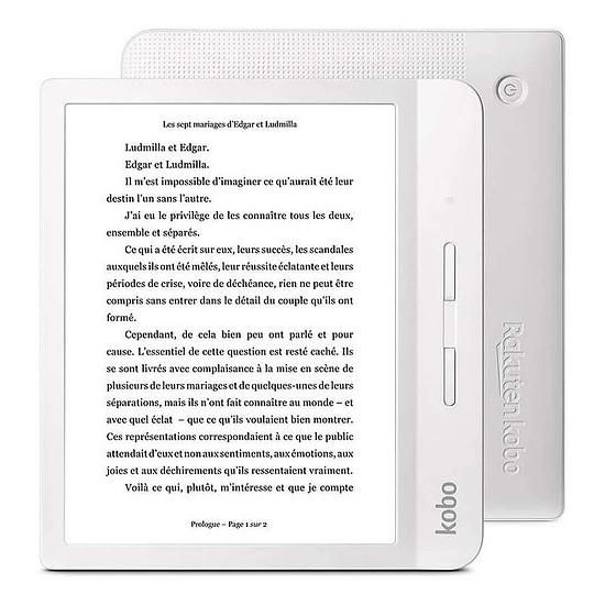 Liseuse numérique Kobo Libra H2O Blanc