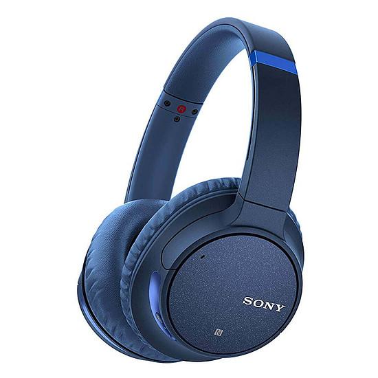 Casque Audio Sony WH-CH700N Bleu - Casque sans fil