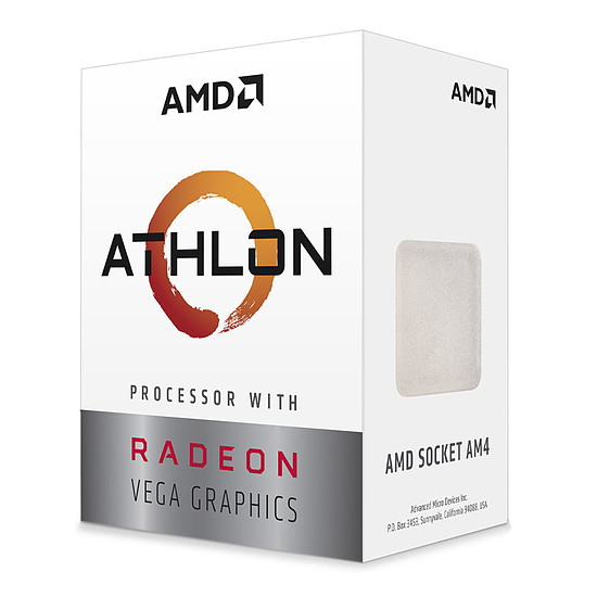 Processeur AMD Athlon 3000G (3.5 GHz)