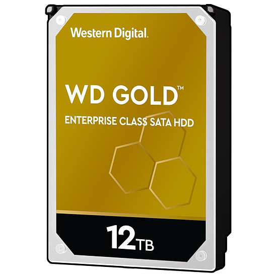 Disque dur interne Western Digital WD Gold - 12 To - 256 Mo